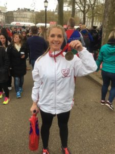 Natalie Steward London Marathon 2016 Remote Personal Training Ireland Fitness Sucess Achieve Sports Massage Thai Boxing Combat Conditioning Maidstone Dartford inov8 K